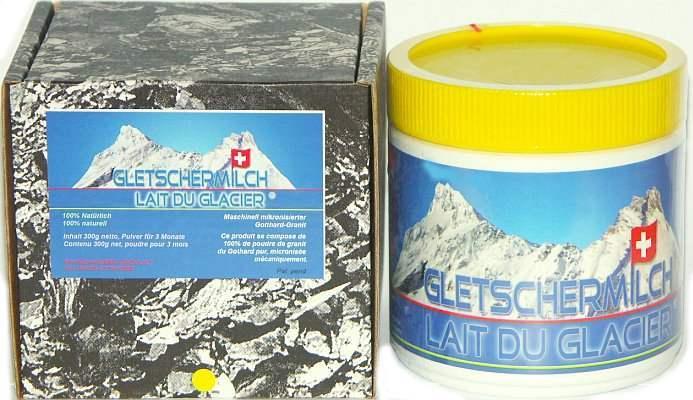Gletschermilch Pulver