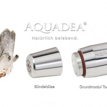Aquadea ToneOne Silber <br>Bergkristall Wirbler 10-Tages-TEST