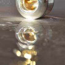 AQUADEA Trinity Silber Kristall<p>Trinkwasserwirbler<br>Bergkristall-Rosenquarz-Aquamarin