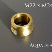 Adapter M22 auf M24 Außengewinde Standard