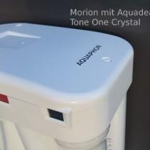 Umkehrosmoseanlage<br>AQUADEA MORION mit ToneOne Crystal Wasser Wirbler