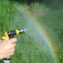 Garten Impuls Wirbler Spritze <br> mit Aquadea Kristall-Wirbelkammer