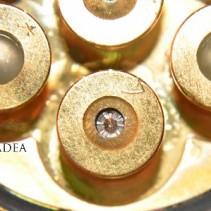 Einzelstück: GOLD 7 – 3-DIAMANT<p> Bergkristall-Aquamarin<p> WIRBEL Power DUSCHE