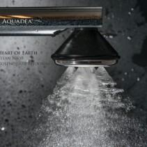 """Heart of Earth"" Aquadea LifePower 5<p>Wirbeldusche NIOB Sondermodell"