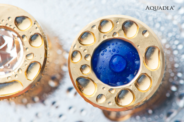Lapislazuli aquadea gold quarz