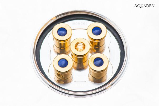 Lifepower5 Lapis-Lazuli Silber Gold Aquadea