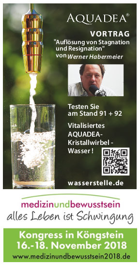 Medizin und Bewußtsein Kongress in Königstein mit Aquadea Vor Ort