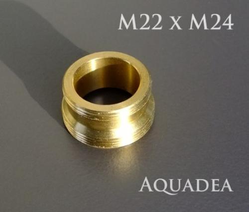 Wasserhahn Dusche Umschalter : m22 Adapter mit au?engewinde auf M24 extra lang, M22xM24x1